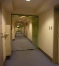 本館 客室階の廊下