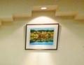 レストラン内の絵画
