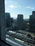 丸ビルと新丸ビル(レストランからの眺め)