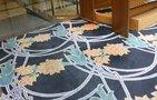 ロビーラウンジの素敵な絨毯