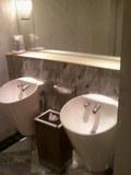 とても清潔感のあるトイレ