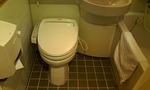 ユニットバスです。トイレは洗浄付き!