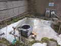 外の露天風呂