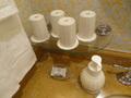 洗面台のコップ