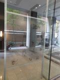 1階の窓ガラス