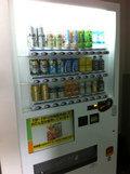 客室フロアの自動販売機