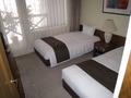 ジュニアスイートの寝室