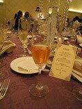 色が変わるシャンパン