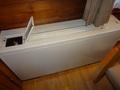 寝室の暖房器