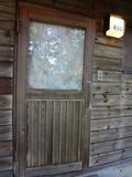 コテージの扉