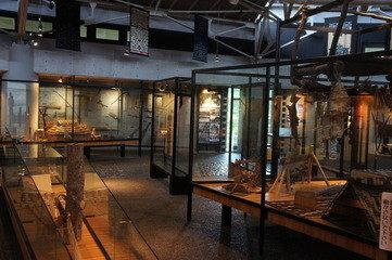 二風谷アイヌ文化博物館 内部
