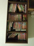 図書コーナの本棚
