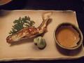 湯原温泉八景の夕食