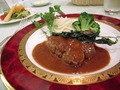 中禅寺金谷ホテルの夕食