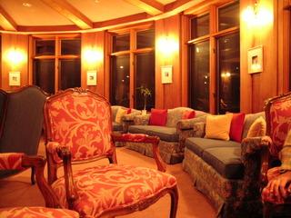中禅寺金谷ホテルのロビー