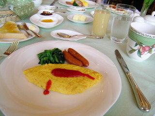 中禅寺金谷ホテルの朝食