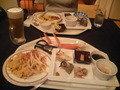 ナクア白神ホテル&リゾートの夕食(バイキング)