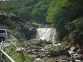 滑川温泉福島屋横にある「大滝」