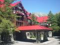 上高地帝国ホテルの外観(エントランス)