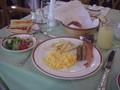 上高地帝国ホテルの朝食
