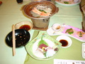 塩壺温泉ホテルの夕食