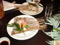 仙仁温泉岩の湯の夕食