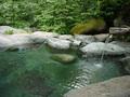 八丁の湯の露天風呂その1