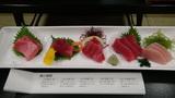 ホテルアンビア松風閣のマグロ食べ比べセット
