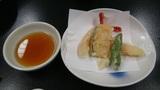 ホテルアンビア松風閣の天ぷら