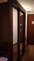 ヒルトンニセコビレッジの部屋の大きなクローゼット