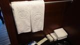 ヒルトンニセコビレッジの部屋に備え付けのタオル