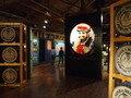 ニッカウヰスキー余市工場の樽の展示