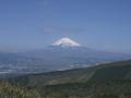 箱根から見た富士山全景