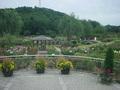 やまがた川西ダリヤ園の園内