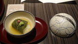 嵯峨沢館の夕食「お通し」