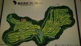 嬬恋プリンスホテルのゴルフ場のコース案内図