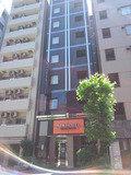 アパホテル新富町駅前の外観