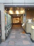 東京第一ホテル錦のレストラン側入り口