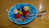ホテル マウント富士の夕食のデザート