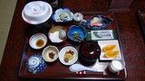 秘湯にごり湯の宿渓雲閣の朝食