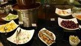 ヒルトン東京の1F「マーブルラウンジ」のビュッフェのフルーツ