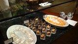 ヒルトン東京の1F「マーブルラウンジ」のビュッフェのデザート