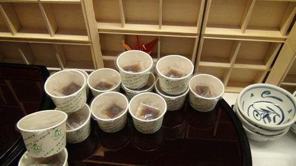 グランドプリンスホテル京都のポンドカフェの朝食の納豆