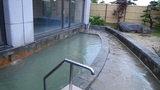 はぼろ温泉サンセットプラザの大浴場「日本海」の露天風呂