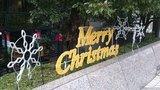 ザ・ペニンシュラ東京のクリスマスネオン