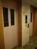 2台がフル稼働のエレベーター