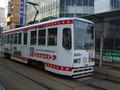 函館市内を走る市電
