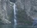 瀞峡巡り中に見た滝