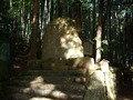 熊野古道の石碑