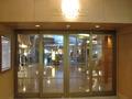 ホテル1階入り口